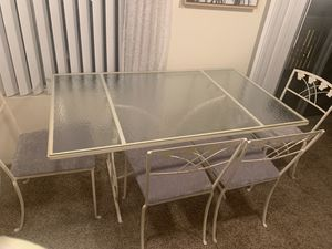 parisian dining table and chairs set for Sale in San Diego, CA