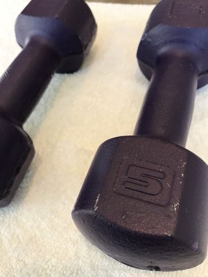 5 lb Weight Dumbbell Set for Sale in Chandler, AZ