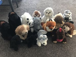 Various webkinz stuffed animals (16) for Sale in Excelsior, MN