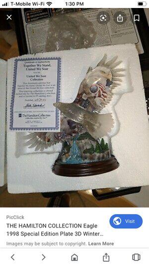 Hamilton collection eagle statue for Sale in Murrieta, CA