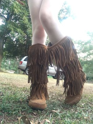 Fringe boots for Sale in Taylors, SC