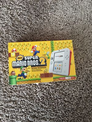 Nintendo 2ds 3ds Super Mario Bros 2 with Games for Sale in Silver Spring, MD