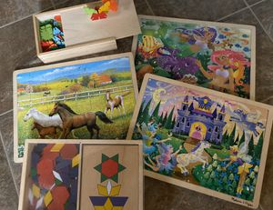 MELISSA & DOUG PUZZLE & TOY 5 Piece LOT for Sale in Seattle, WA
