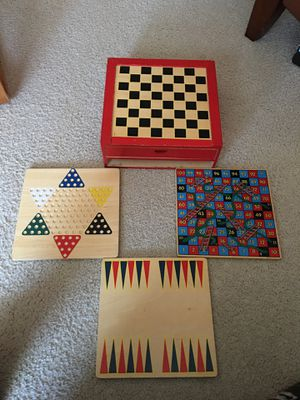Board game chest for Sale in Cary, NC