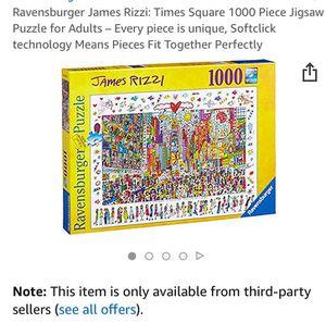 Ravensburger times square puzzle for Sale in Manassas, VA