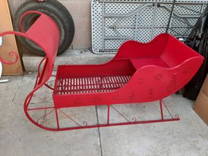 SLEIGH material METAL for Sale in Ontario, CA