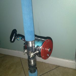 Sabre Classic Fishing Pole With Jig Master Reel for Sale in Anaheim, CA