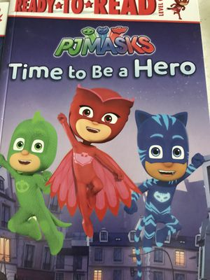 PJ Masks 6 libros Nivel I for Sale in Cudahy, CA