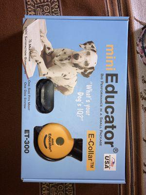 Mini Educator Dog E-Collar for Sale in Arlington, VA