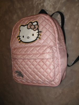 HELLO KITTY Girls' Kids Pink Satin Backpack NEW for Sale in Los Angeles, CA