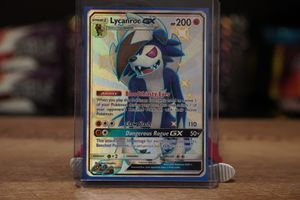 SHINY LYCANROC GX HIDDEN FATES MINT for Sale in Lewisville, TX