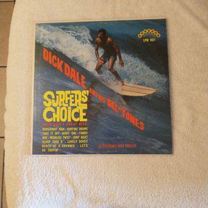 Dick Dale & His Del-Tones Surfer's Choice LP for Sale in Glendale, AZ