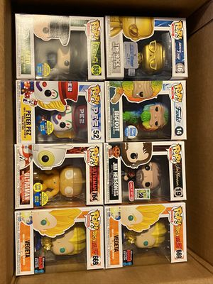 Pop funko BLOW OUT! Bigfoot SDCC NYCC hot topic EXCLUSIVE DRAGONBALL NO TRADES for Sale in Braintree, MA