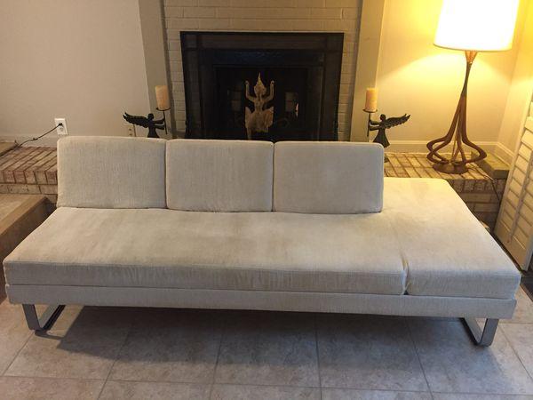 Designer Italian sofa flex couch or bed