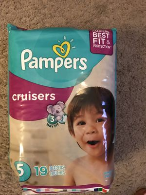Pampers-unopened size 5 for Sale in Herndon, VA