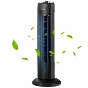 """New 35W 28"""" Quiet Bladeless Oscillating Tower Fan for Sale in Hacienda Heights, CA"""