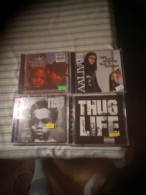 Out Kast, Aaliyah, Nas, and Thug Life CD's for Sale in Detroit, MI