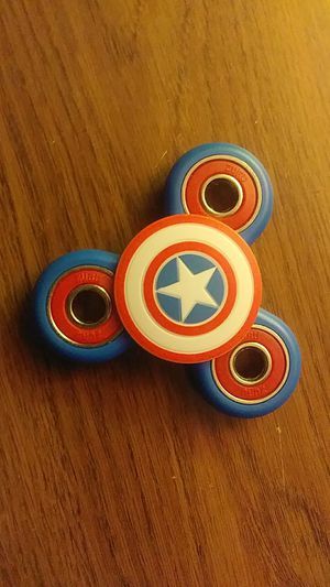 Offical captain america figit spinner for Sale in Federal Way, WA