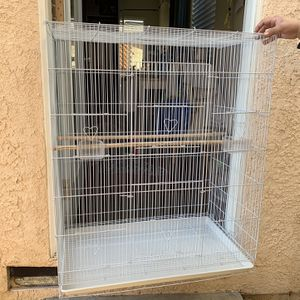 Large White Bird Cage for Sale in Los Angeles, CA