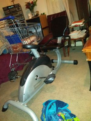 Exercise bike and a down rigger for Sale in San Antonio, TX