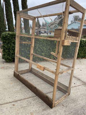 "Heavy duty animal cage 76""x65""x28"" for Sale in Sacramento, CA"