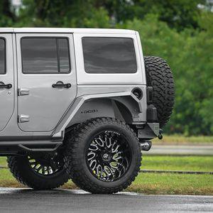 Jeep Wrangler wheels 22x12 for Sale in Miami Springs, FL