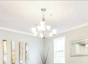 9 light chandelier for Sale in Washington, DC