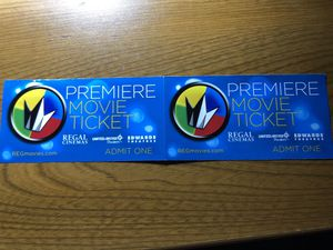 Movie tickets x2 for Sale in Bothell, WA