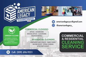 Cleaning services for Sale in Stockton, CA