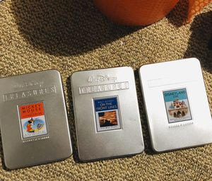 Anniversary collection of Walt Disney Classics in 3 protective case for Sale in Concord, CA