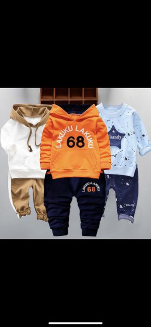 Infantil Baby Boys Suits Newborn Clothing Set Kids for Sale in New York, NY