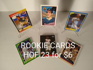 Baseball Rookie Card(s) - All Hall of Famers for Sale in Wantagh, NY