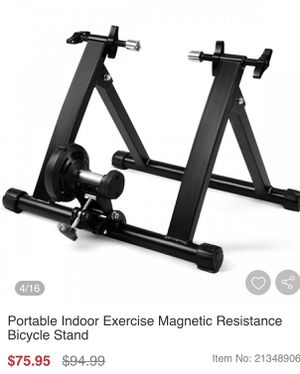 Portable indoor bike stand for Sale in Rancho Cucamonga, CA