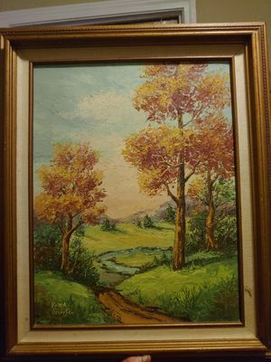 Vena Pitterson oil on canvas. Signed for Sale in Piedmont, SC