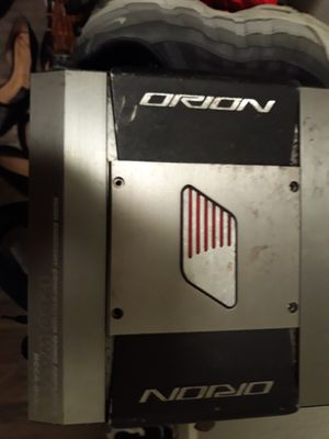 1200 mono Orion amp for Sale in Auburn, WA