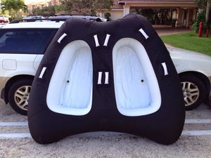 Inflatable Dual Person Water Tube for Sale in West Palm Beach, FL