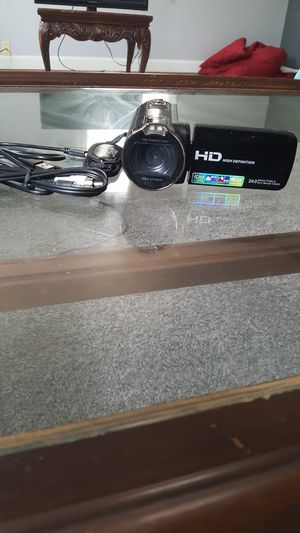 HD video camera/new/ only 40$ for Sale in North College Hill, OH