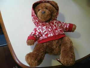 """12"""" plush Teddy Bear doll, made by Aeropostale, in good condition for Sale in Houston, TX"""
