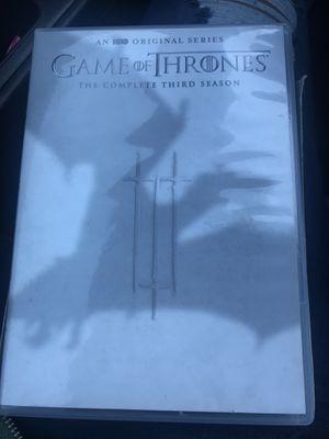 Game of thrones season 3 for Sale in McGaheysville, VA