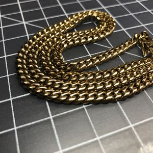 "10k Solid Gold 20"" 5mm Miami Cuban Link Chain for Sale in Fontana, CA"