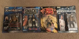 Lot of 4 The Rock WWF Action Figures for Sale in Chelmsford, MA