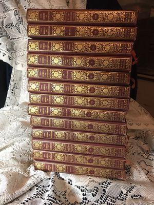 Thirteen volume set, The Works of Tennyson 1901 for Sale in Yuma, AZ