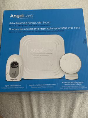 Baby Monitor Breathing And Audio Sensor By Angelcare AC117 Sound and Movement for Sale in Las Vegas, NV
