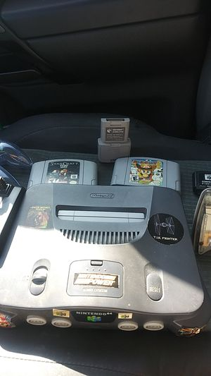 Nintendo 64 Console With Games And Controller Combo for Sale in Downey, CA