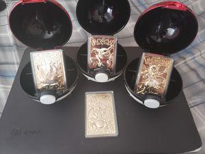 Gold pokemon cards for Sale in Monroe, GA
