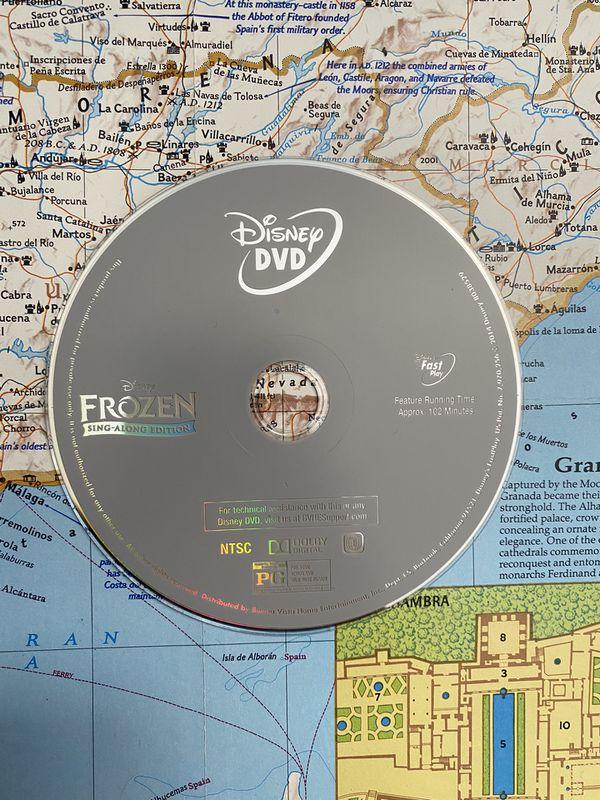 Disney Frozen Sing Along Edition DVD Movie Film