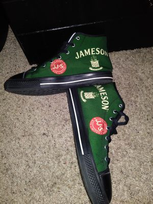 Custom stitched Jameson high-top SIZE 10 for Sale in Frisco, TX
