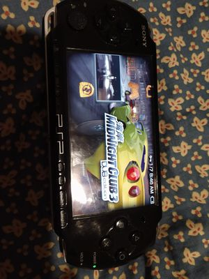 Psp $165 15 games charger testing available battery for Sale in Plano, TX