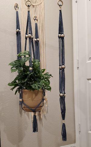 Handmade macrame plant hanger for Sale in Spring Valley, NV