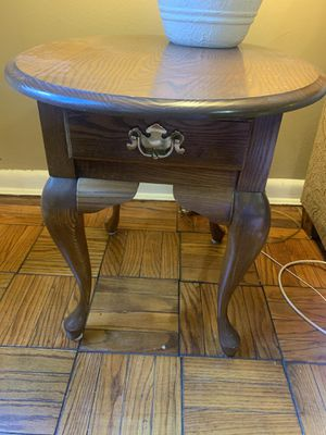 Wooden End Table for Sale in Arlington, VA